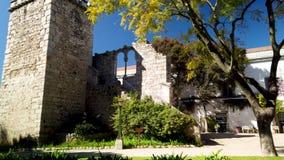 Fausses ruines à Evora banque de vidéos