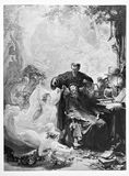 Faust Illustration Royalty Free Stock Photography