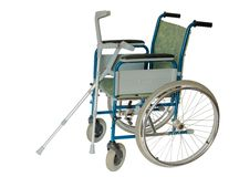Fauteuil roulant Image stock