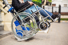 Fauteuil roulant Photo stock