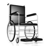 fauteuil roulant 3D sur le fond blanc Photos stock