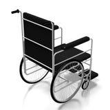 fauteuil roulant 3D sur le fond blanc Photos libres de droits