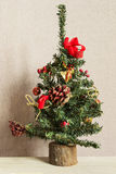 Faux christmas tree Royalty Free Stock Photos