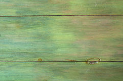 Faux Finish, Rustic Green Wood Background that can be Vertical or Horizontal Stock Image
