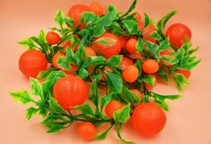 Faux Fruits and vegetables Stock Photo