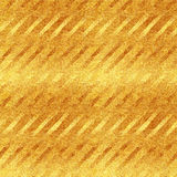 Faux Gold Foil Diagonal Stripes Glitter Pattern Royalty Free Stock Image