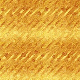 Faux Gold Foil Glitter Diagonal Stripes Pattern Royalty Free Stock Photos