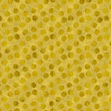 Faux Gold Foil Glitter Polka Dots Pattern Royalty Free Stock Image