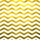 Faux Gold White Foil Metallic Chevron Pattern Chevrons Stock Photography