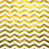 Faux Gold White Foil Metallic Chevron Pattern Chevrons Royalty Free Stock Photography