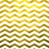 Faux Gold White Foil Metallic Chevron Pattern Chevrons Stock Image