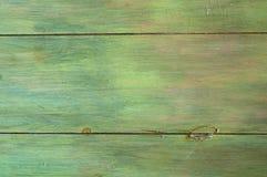 Faux koniec, wieśniaka Zielony Drewniany tło który może być Pionowo lub Horyzontalny Obraz Stock