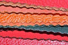 Faux-lederne Muster Stockbild