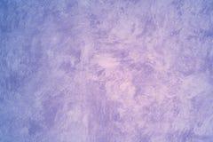 faux målad purpur vägg Arkivfoton