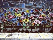 Fauxblumenkunst stockfoto
