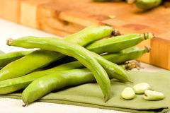 Fava Beans Royalty Free Stock Images