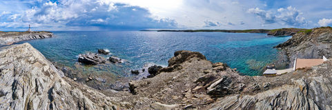 Favaritx lighthouse Stock Images