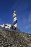 Favaritx lighthouse Menorca Stock Photography