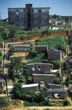 Favela在萨尔瓦多,巴西 免版税库存照片
