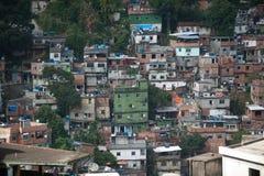 Favela在里约热内卢 免版税库存图片