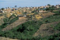 Favela萨尔瓦多巴西 免版税库存照片
