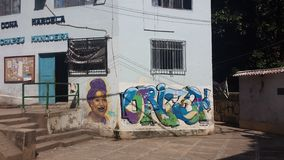 Favela Βραζιλία Ρίο ντε Τζανέιρο στοκ φωτογραφία με δικαίωμα ελεύθερης χρήσης