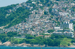Favela στο Ρίο ντε Τζανέιρο Στοκ εικόνες με δικαίωμα ελεύθερης χρήσης