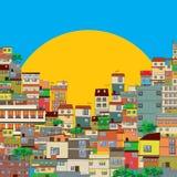 Favela 免版税库存照片