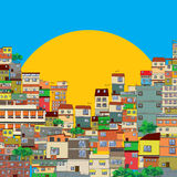 Favela Royalty-vrije Stock Foto