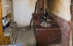 Favela: All'interno della casa Immagini Stock