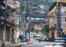 Favela in Brazi Royalty Free Stock Photos