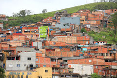 Favela in Brazil Stock Photography