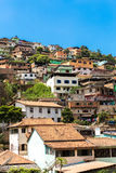 Favela in Brazil, South America Royalty Free Stock Image