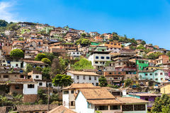 Favela in Brazil, South America Royalty Free Stock Photo
