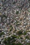 Favela Brazilian Hillside Shantytown Rio de Janeiro Brazil Stock Image