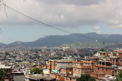 Favela Complexo do Alemão στο Ρίο ντε Τζανέιρο Στοκ Εικόνες