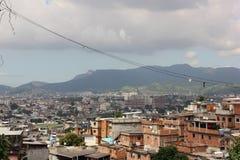 Favela Complexo fa Alemão in Rio de Janeiro Immagini Stock