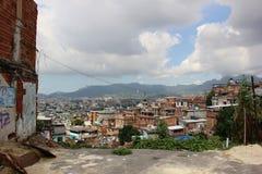 Favela Complexo fa Alemão in Rio de Janeiro Fotografie Stock