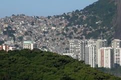 Favela da Rocinha - Rio de Janeiro Royalty Free Stock Photo