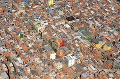 Favela DE Rio das Pedras stock foto
