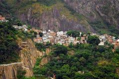 Favela de Rio de Janeiro (taudis) Photographie stock