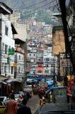 Favela di Rio de Janeiro Fotografia Stock