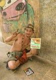 Favela Finger-Maler Stockfotografie