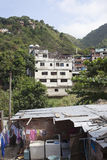Favela Laundry Stock Image