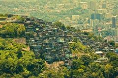Favela in Rio De Janeiro Brazil Stock Images