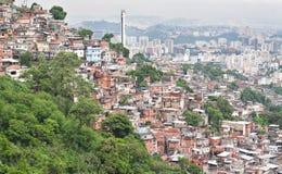 Favela in Rio de Janeiro Royalty Free Stock Photo