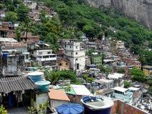 Favela. In Rio de Janeiro, Brazil royalty free stock image