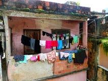 Favela. In Rio de Janeiro, Brazil royalty free stock photo
