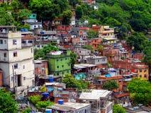 Favela. In Rio de Janeiro, Brazil stock photography