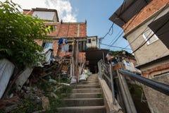 Favela in Rio de Janeiro Royalty Free Stock Image